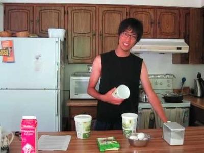Cooking with Derek - Green Tea Ice Cream Part 1.4
