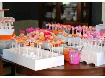 Dessert Table Decorations  Pictures New