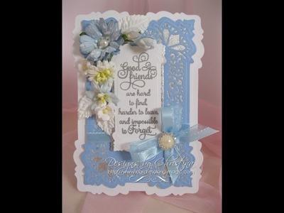 Die Cutting and Gilding Flakes (card-making-magic.com)