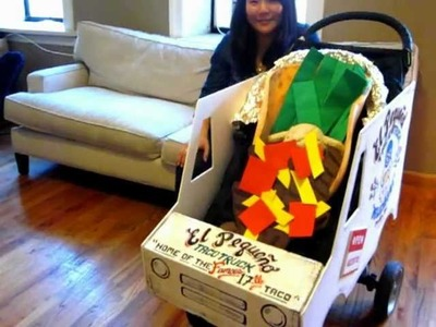 Easy Taco Truck Halloween Costume for Babies and Toddlers