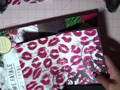 Femme Fatale Paper Bag Mini, Part 1: Supplies