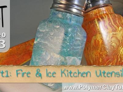 Fire & Ice Kitchen Utensils Polymer Clay Tutorial (Intro)