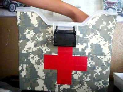 First-aid kit (for First-Aid Merit Badge)