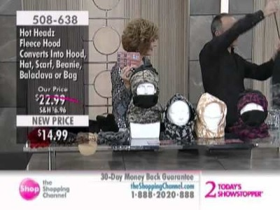 Hot Headz 6-in-1 Hood at The Shopping Channel 508638