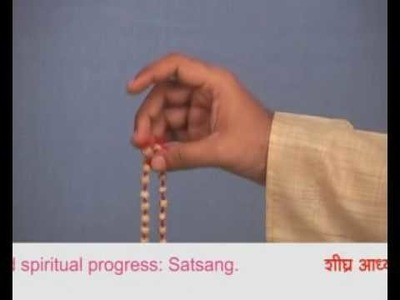How to Chant with a Mala? (Hindi)