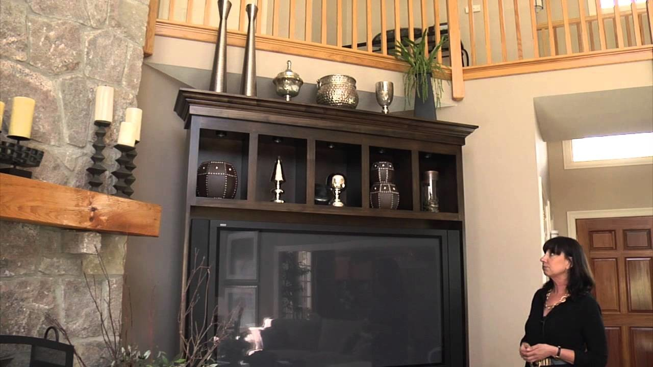 How to Decorate the Top of an Entertainment Center & Bookcase : Home Accessories & Decor