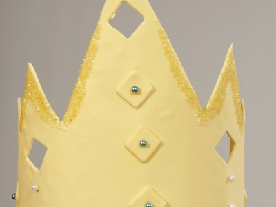 How to Make a Fondant Crown | Cake Fondant