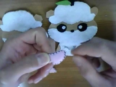 How to make a Kuririn plush tutorial