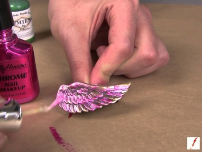 How to Make a Rhinestone Angel Wing Ring