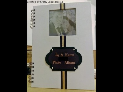How to make an Inset Window in a Wedding Photo Album