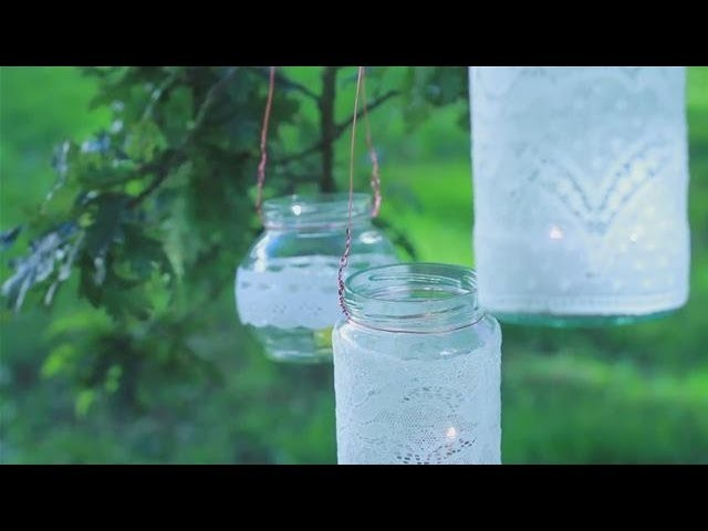 How to Make Lanterns Out of Jam Jars
