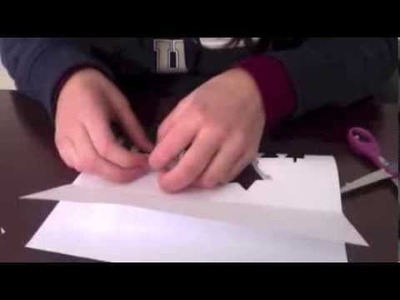 How To Make Letters Pop Up from Paper without Glue or Tape