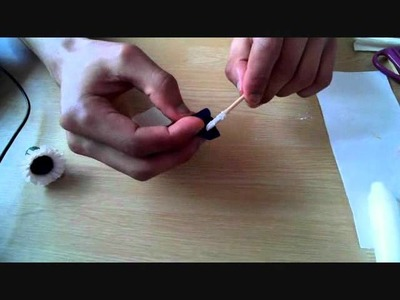 How to make paper flower african daisy