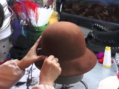 How to make wool felt hat