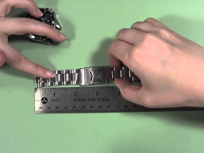 How to Measure a Watch Band OVERVIEW