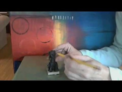 How-to Sculpt a Polymer Clay Black Lab