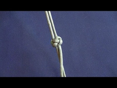 How to tie- Diamond Knot