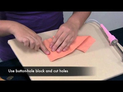 Inserting or Adding a Magnetic Snap to Your Sewing Project