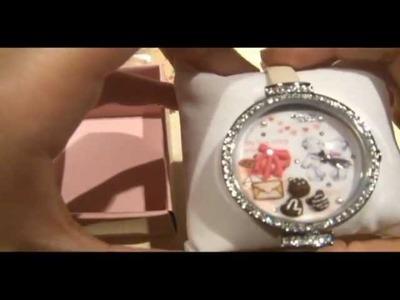 Korean Polymer Clay Mini Miniature Watch