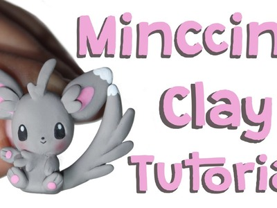 Minccino Polymer Clay Tutorial | Pokemon Collab with Polymomotea