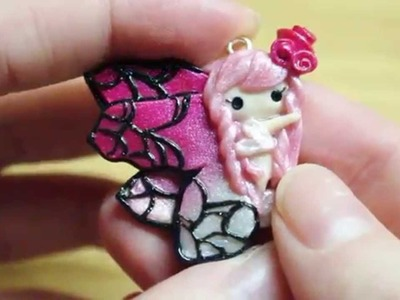 Mystical.Mythical Creatures Collab: Polymer Clay Butterfly Fairy