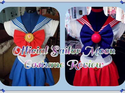 Official Sailor Moon Costume Review