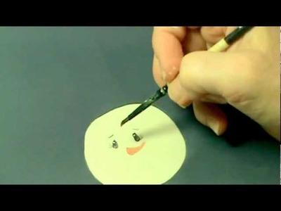 Paint a Snowman Head: Part 2 of 3
