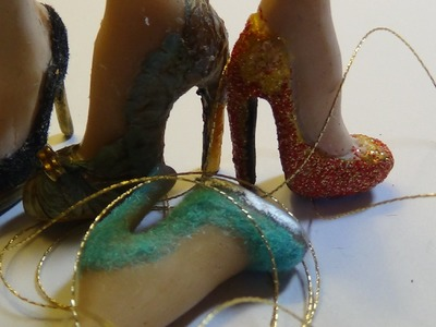 Part 2 sculpting high heels with polymer clay