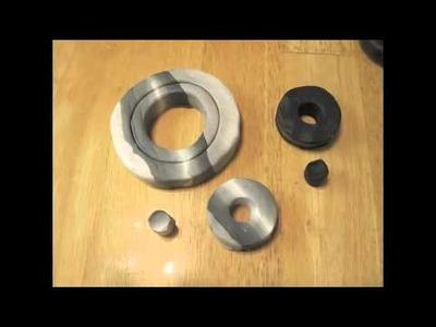 Polymer Clay Steampunk Gears cane tutorial