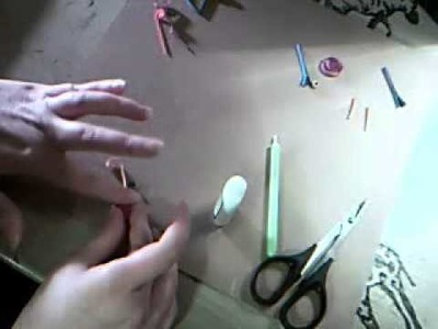 QUILLING- making a bird