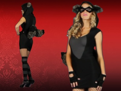 Sexy Raccoon Halloween Costume Idea