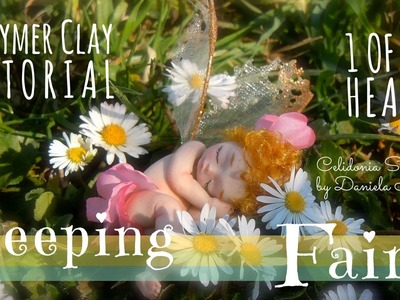 Sleeping Fairy - Polymer Clay Tutorial - Part 1 of 3 - Head