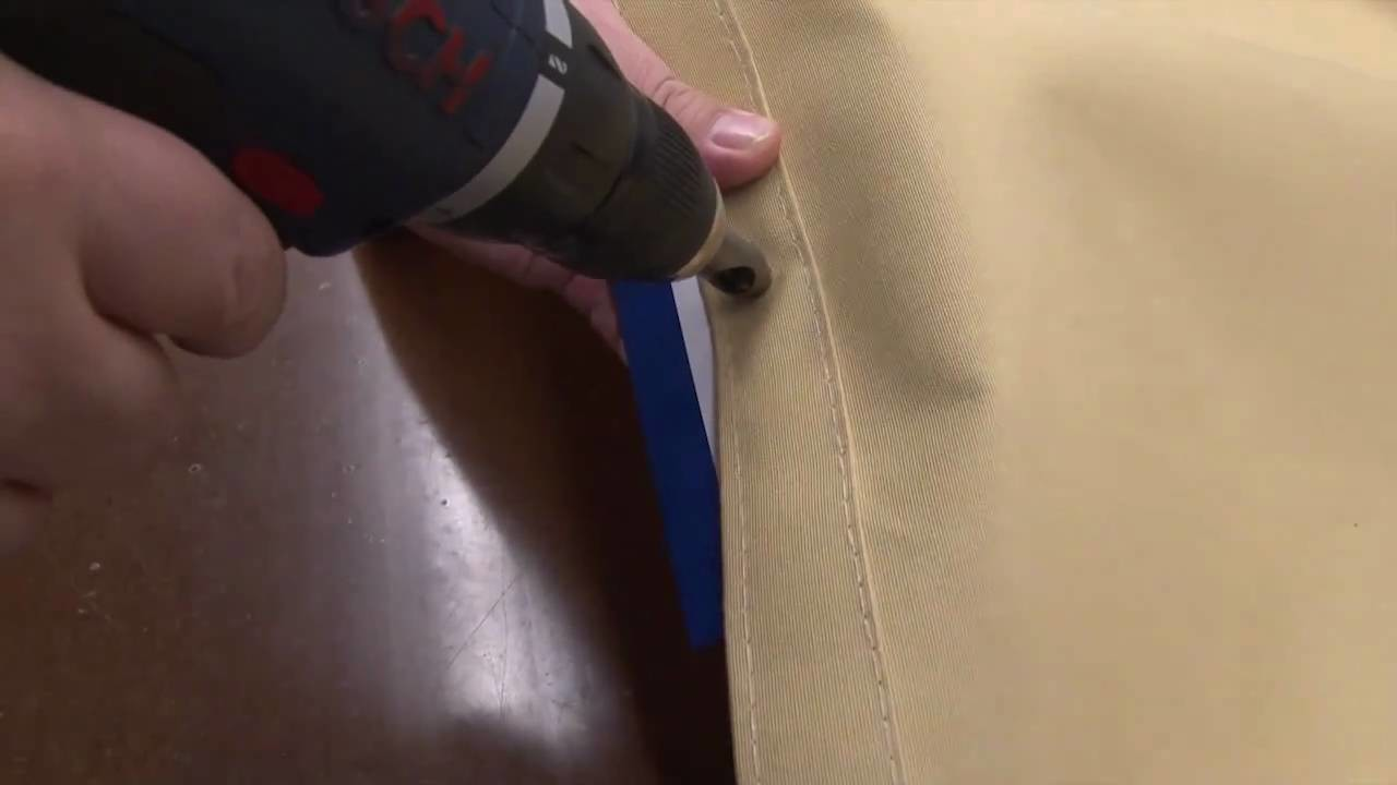 Stayput Spin Cut - Cut Holes in Fabric Using a Drill