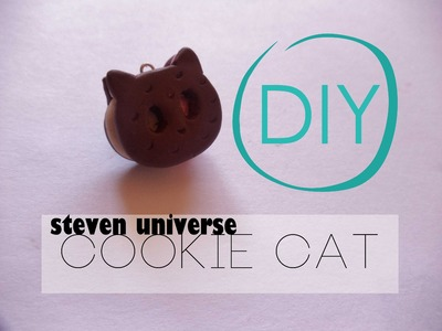 Steven Universe Cookie Cat Tutorial [Polymer Clay ^_^]