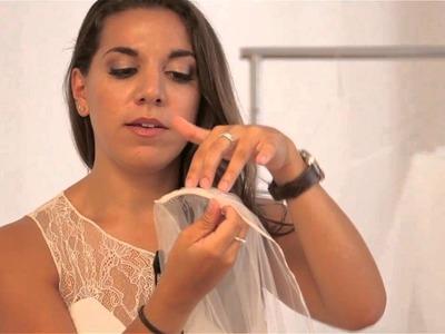 The Best Ways to Wear a Wedding Veil : Bridal Wear