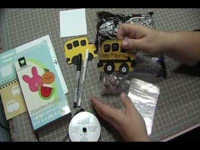 Video #114 - School Bus Treat Bag