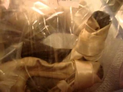 What to do with old pointe shoes!