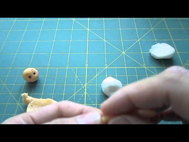 #7 How to make a Small Doll Cupcake Toppers