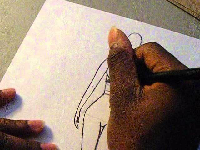 After-school Special on Sketching Gathers and Hemlines | How to Sketch Fashion Croquis
