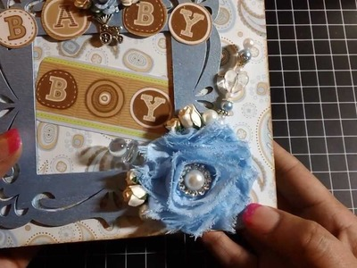 Baby Boy Paper Bag Mini Album