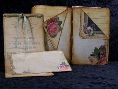 Cottage Chic Moments mini book