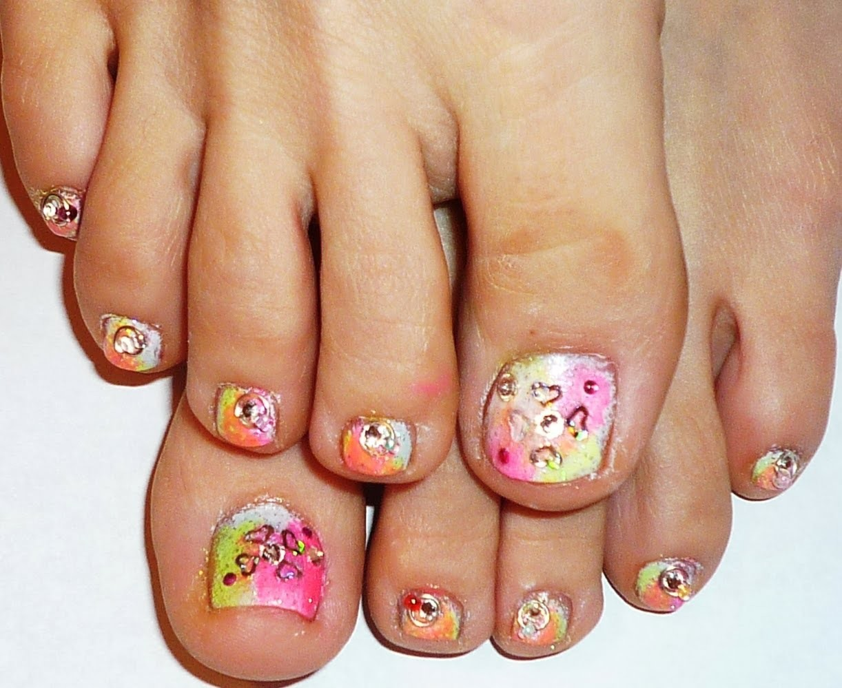 Date Night Nails - Part 2- Toe Nail Design collaboration with Love4nails