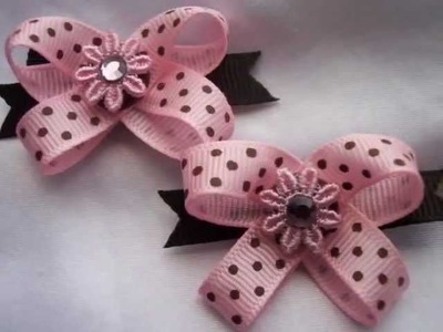 Dog Bows by Snapinbows. UNIQUE!