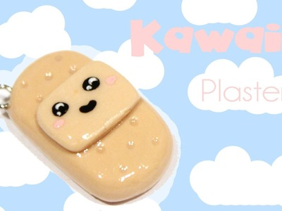 ◕‿‿◕ Cute Plaster! Kawaii Friday 63 -Tutorial in Polymer Clay
