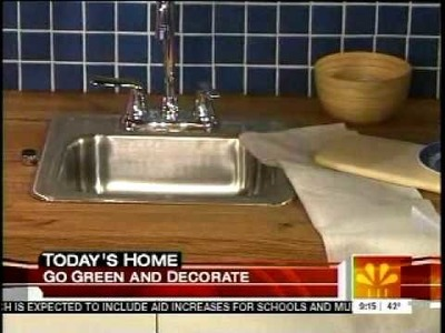 Fireclay Tile on The Today Show - Recycled Kitchen Ideas by Domino Magazine