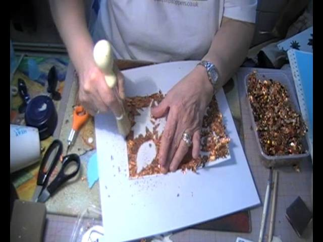 Gilding Flakes, Bling on a budget with Meryle Holland pt 2.wmv