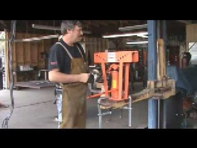 Hands, On, Part 2 - Using a Hydraulic Pipe Bender to Make a Metal Tree - Kevin Caron