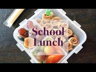 Healthy School Lunch Ideas Beyond the Sandwich | Back to School | One Hungry Mama