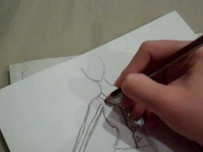 How to design clothing for fashion (easy drawing