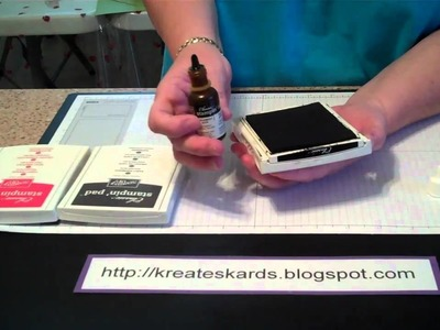 How to Ink Your Stampin' Up! Stamp Pads -  KreatesKards Tutorial